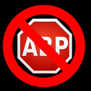 No Adblock symbol